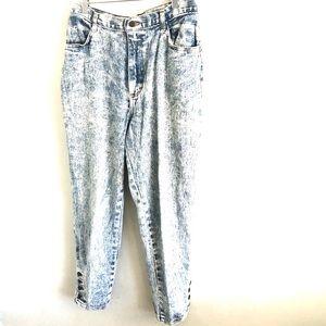 Vintage Gap Acid Wash Jeans Button Cuff
